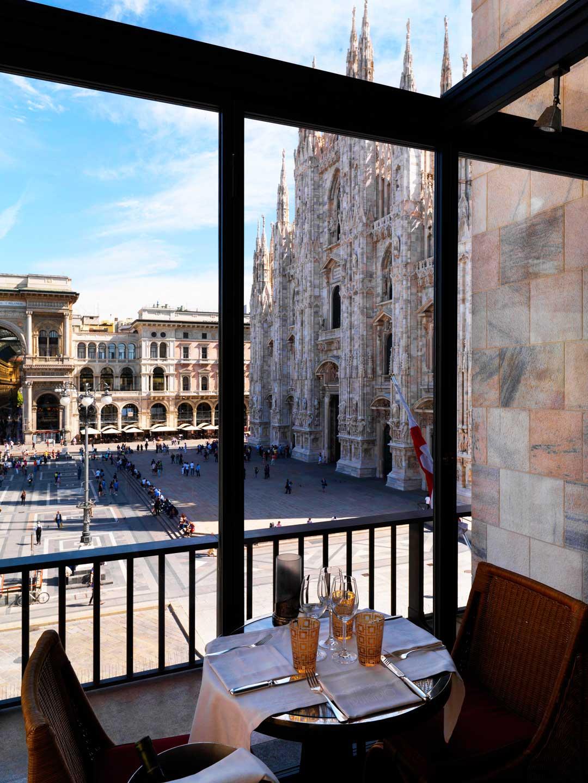 La vista del Duomo da Giacomo Arengario