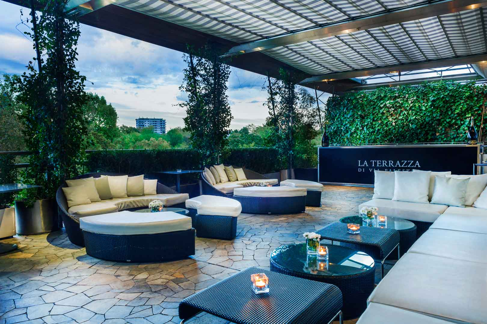 La terrazza di via palestro flawless milano - Terrazzi di design ...