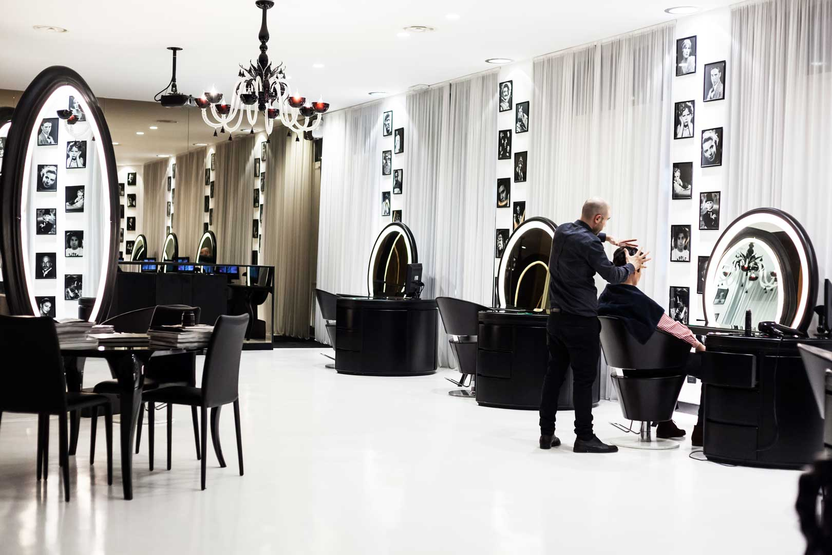 Barber Shop by Atelier Luigi Ciccarelli