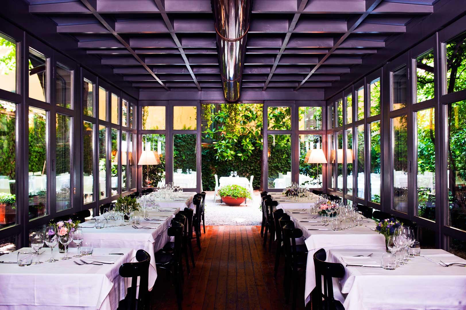 Ristorante la brisa flawless milano the lifestyle guide - Ristoranti con giardino roma ...