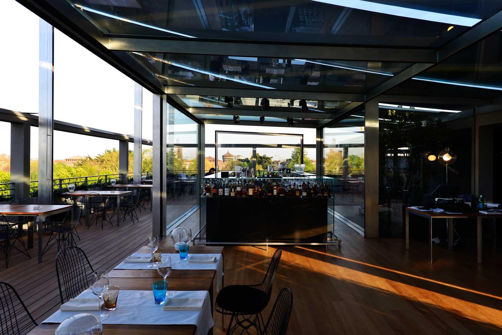 Terrazza triennale osteria con vista flawless milano for Triennale a milano