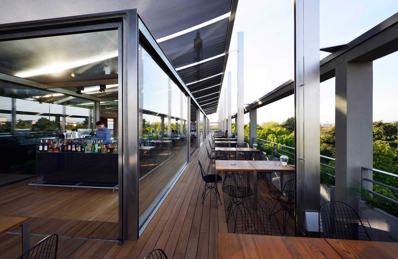 Terrazza triennale osteria con vista flawless milano for Viale alemagna 6 milano