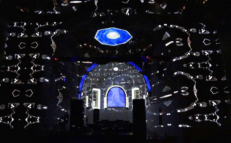 Music & Lights in a 1359's church