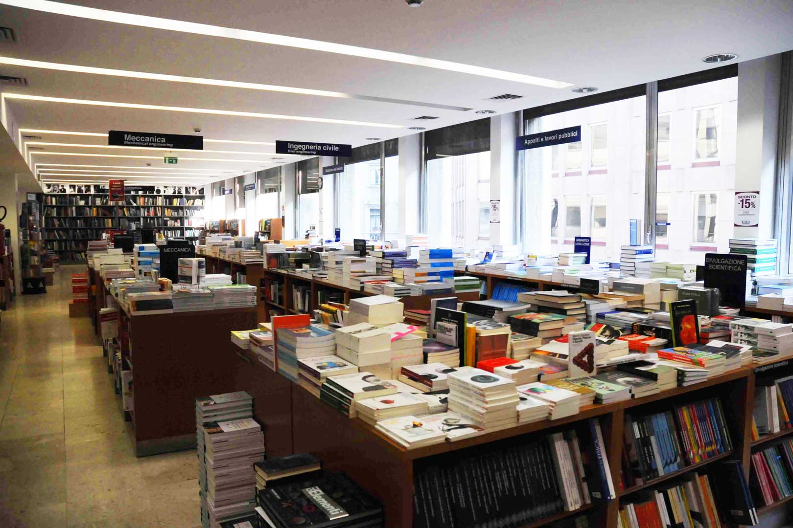 Hoepli Bookstore Flawless Milano The Lifestyle Guide