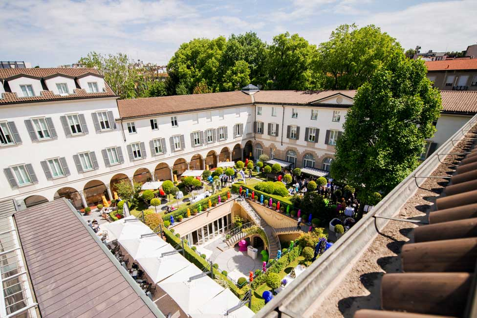 Milan 39 s best 5 ap ritifs of the most in vogue hotel gardens for Hotel manin milano