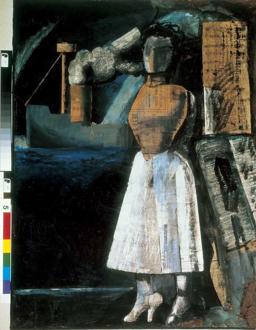 Riproduzione del dipinto La Venere dei Porti di Sironi