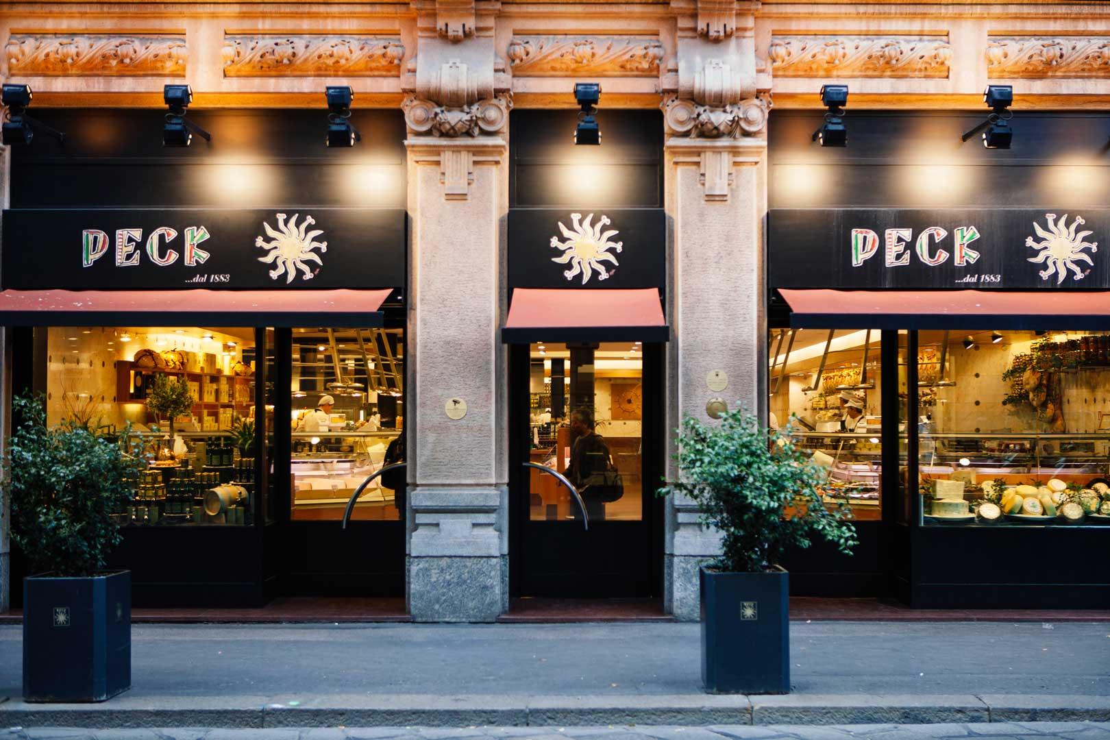 Peck - Via Spadari, Milano.