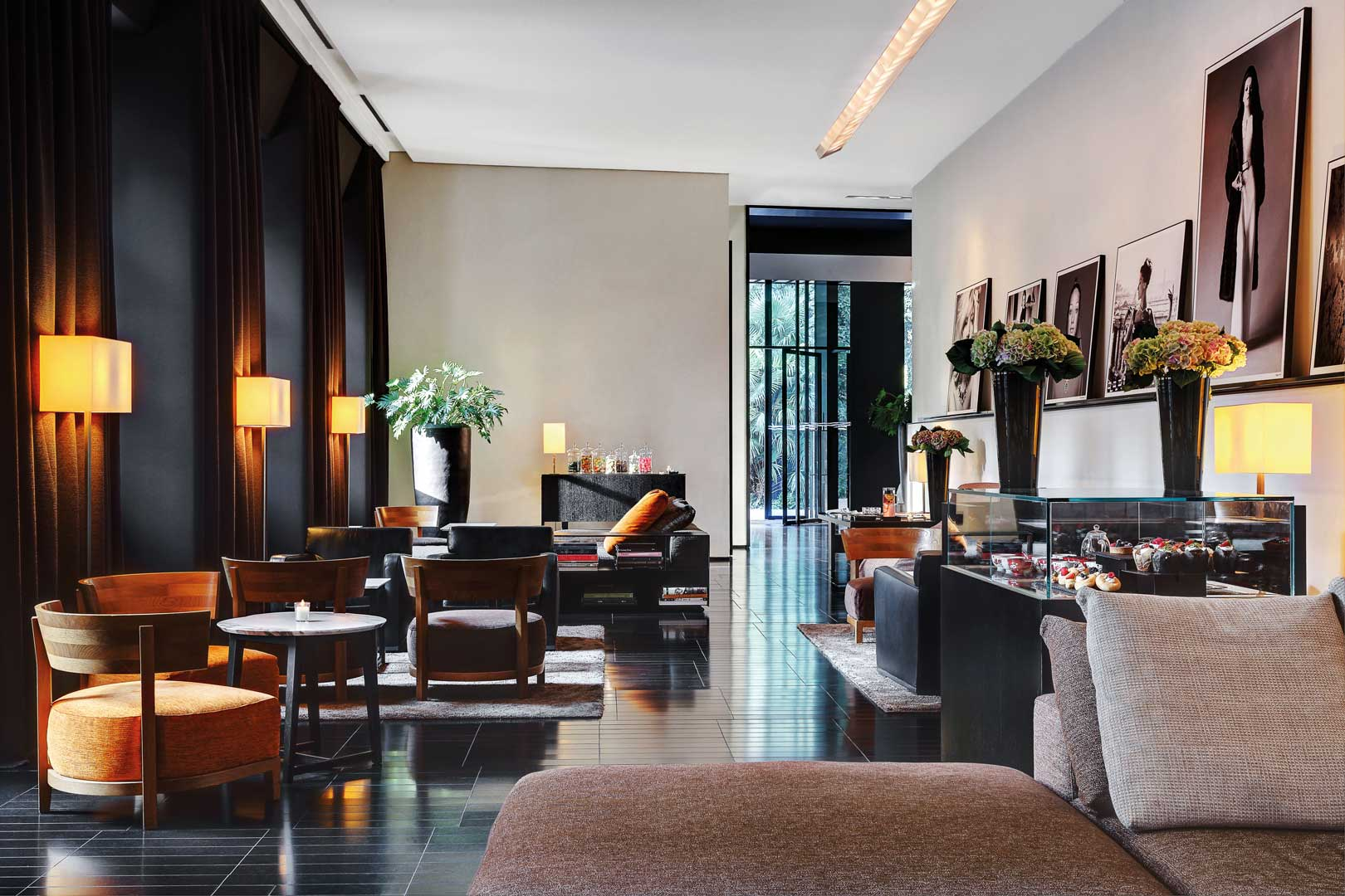 Bar bulgari hotels resorts flawless milano for Hotel design italie