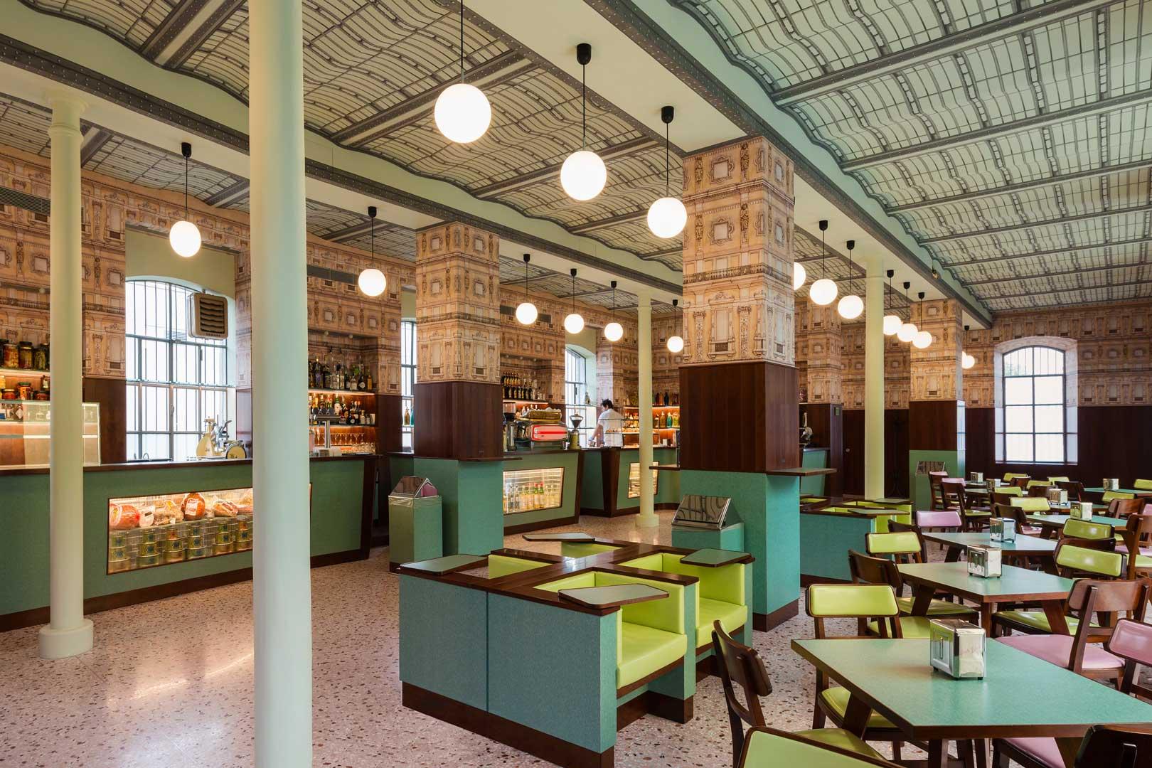 Interior Decor Home Bar Luce Fondazione Prada Flawless Milano