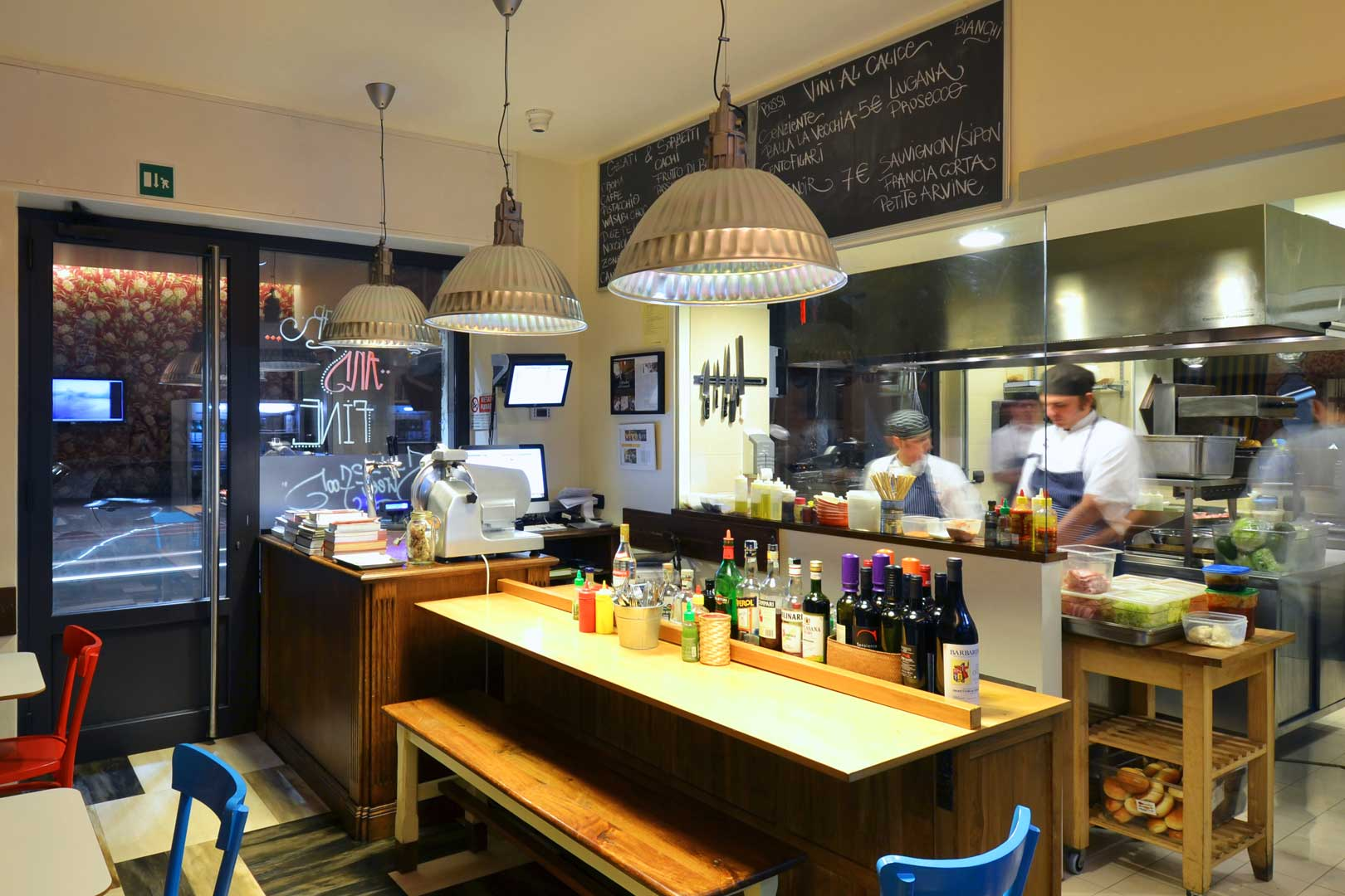 The 5 best american food and drink experiences in milan for Bar food top 10