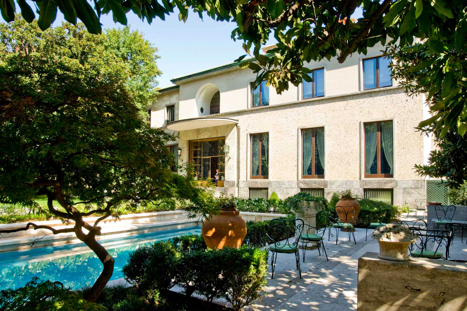Villa necchi campiglio flawless milano the lifestyle guide for Villa fenicotteri milano