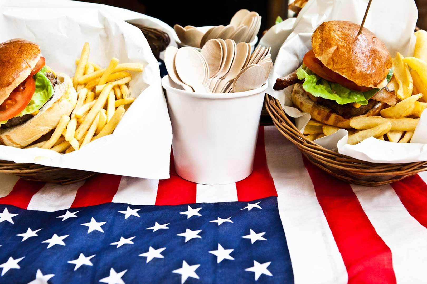 Fast Food American Beauty