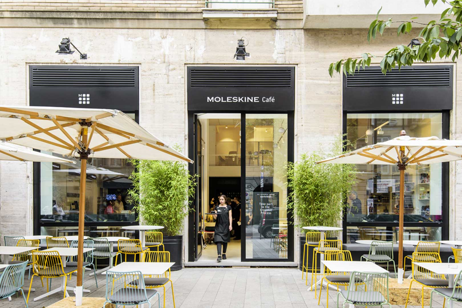 Moleskine Cafe Entrance