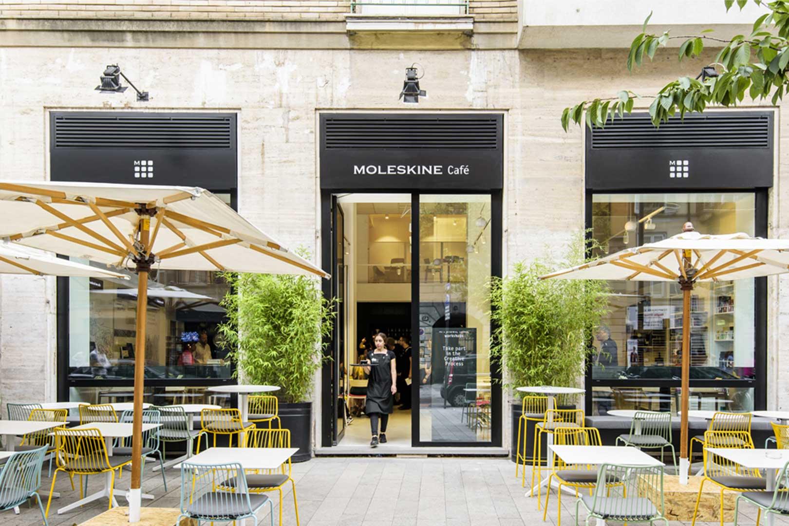 Moleskine Cafe Entrance