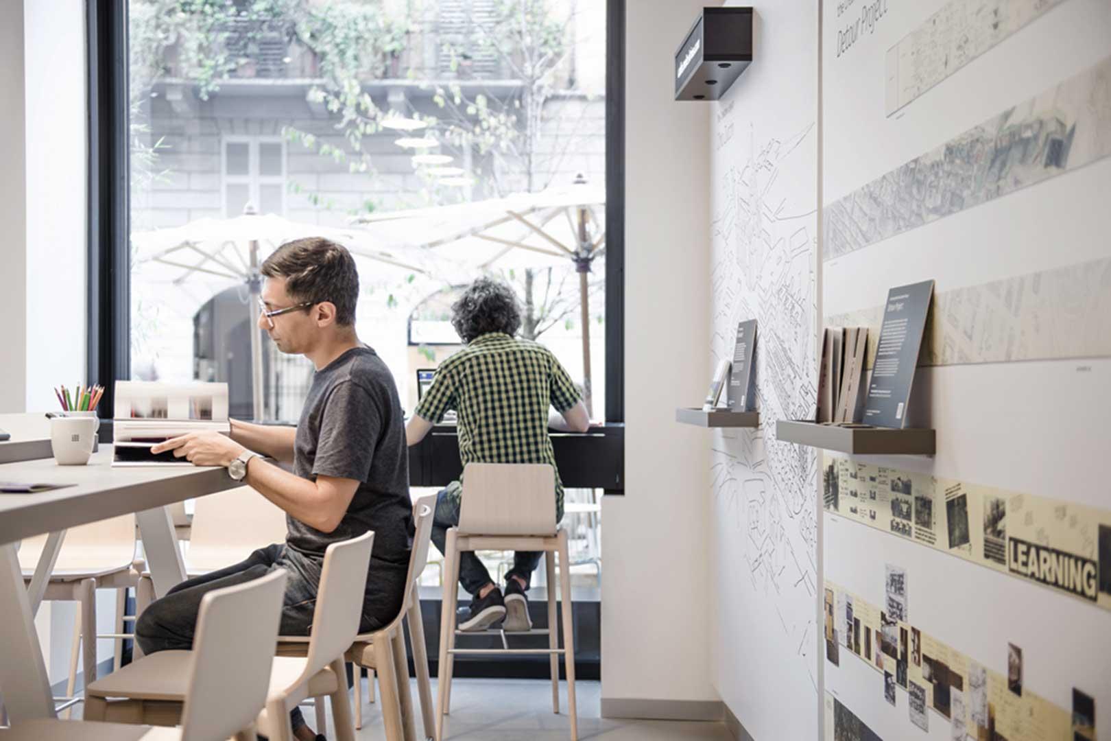 Moleskine Cafe Milano Workstation