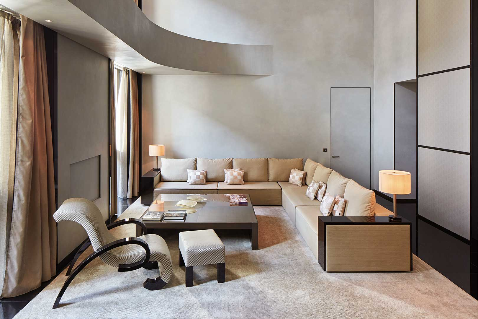 armani living room armani hotel flawless the lifestyle guide 10537