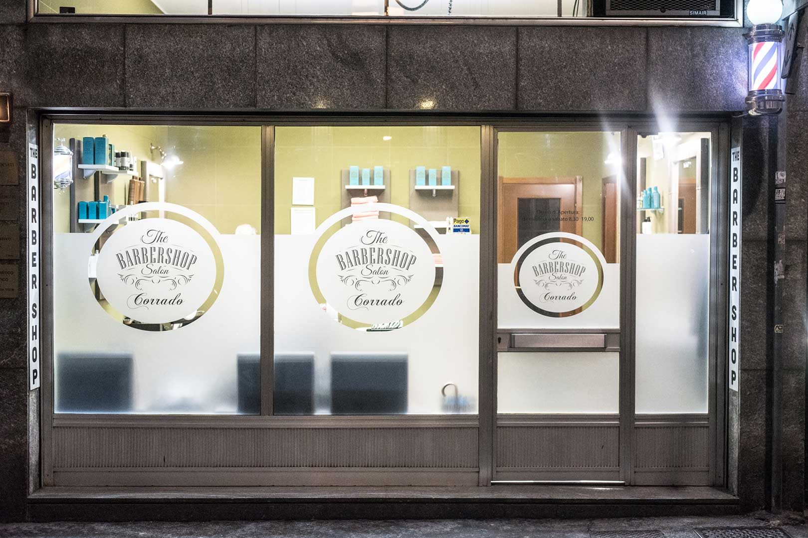 Barber Shop Salon Milano