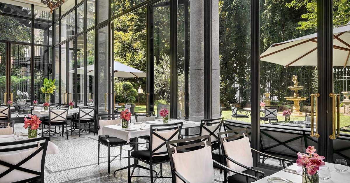 I migliori ristoranti con giardino di milano flawless milano for Milano migliori ristoranti