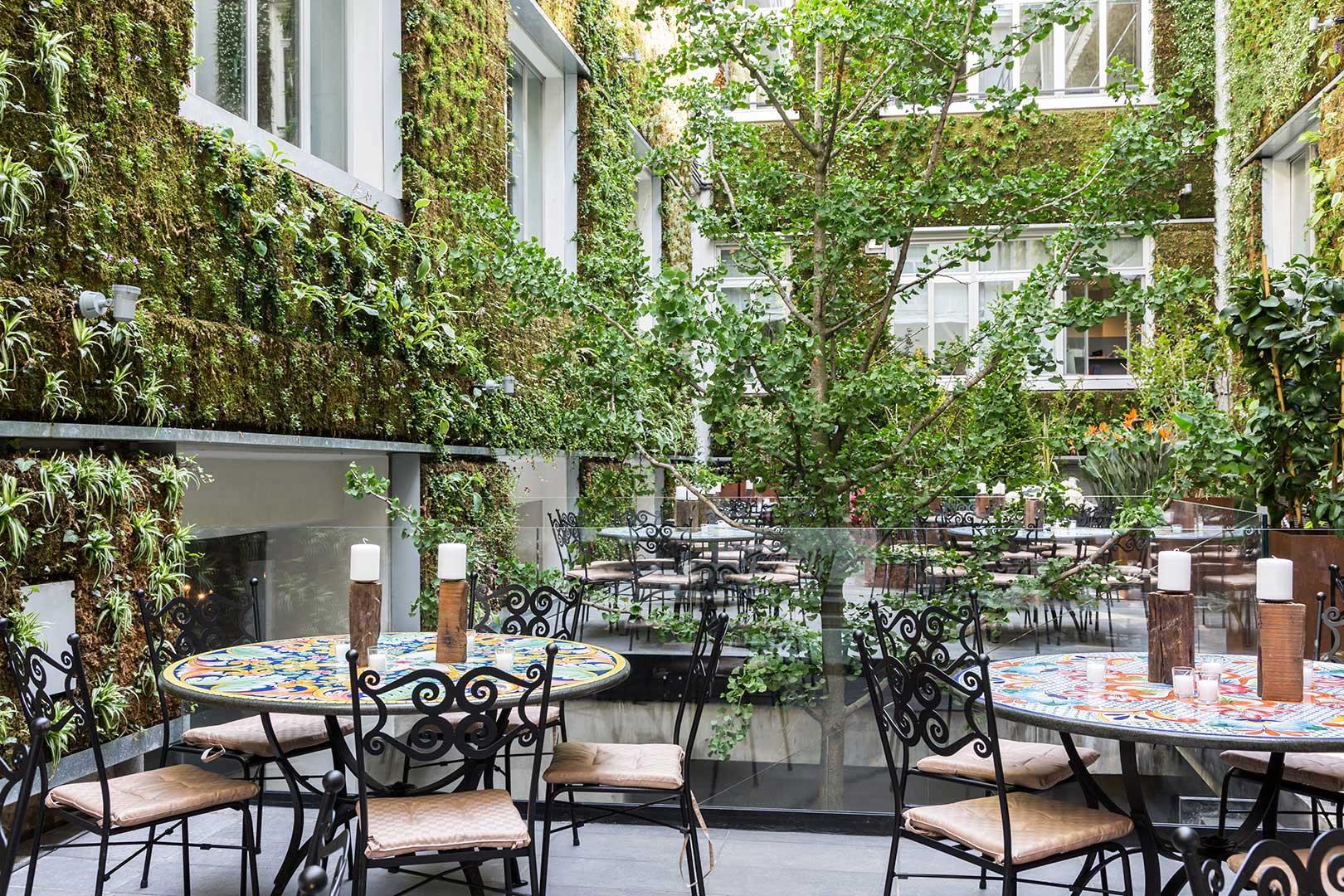 I 10 migliori ristoranti con cortile di milano flawless for Milano migliori ristoranti