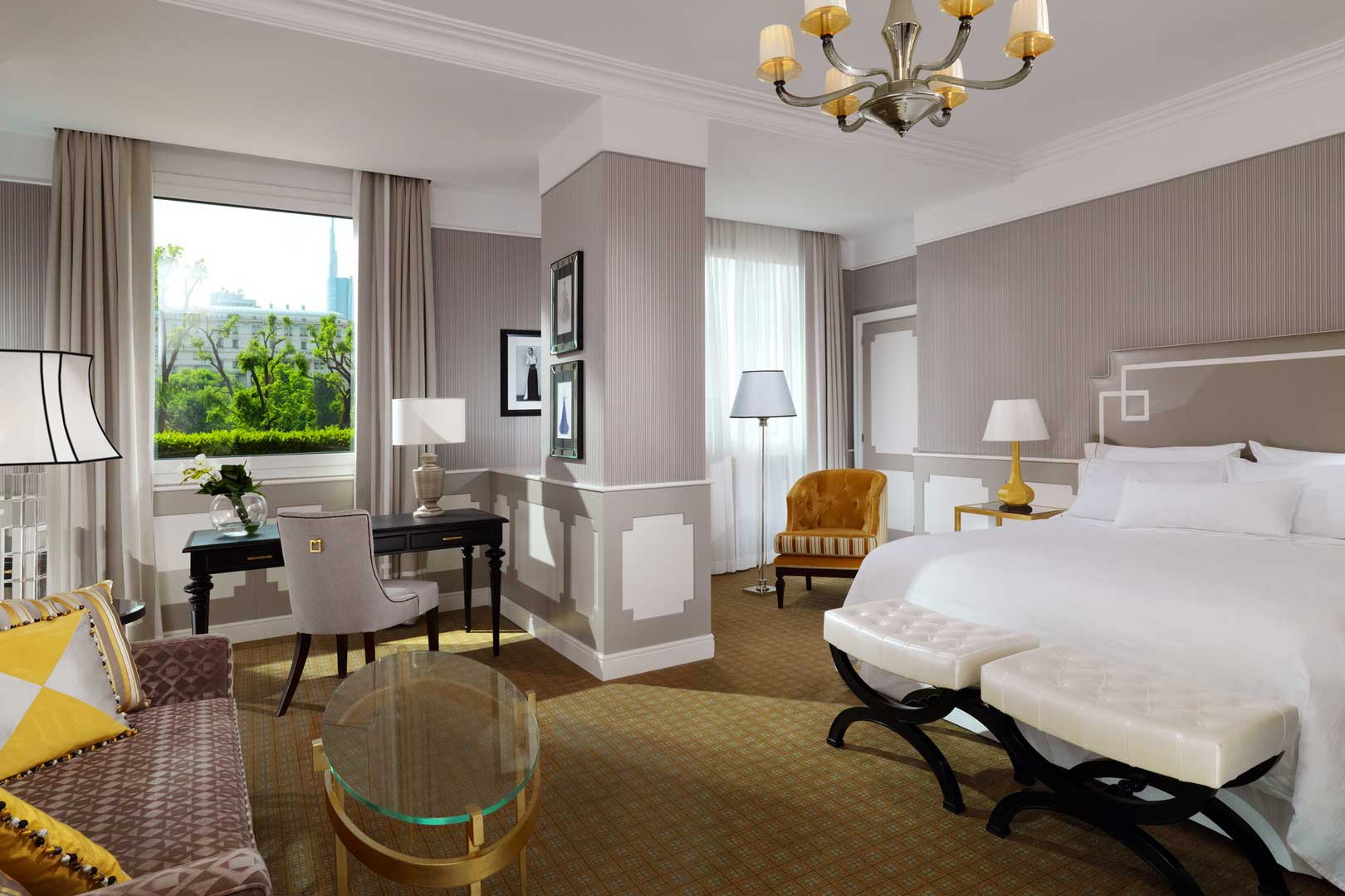 Westin Palace Milan - Grand Deluxe Contemporary Room