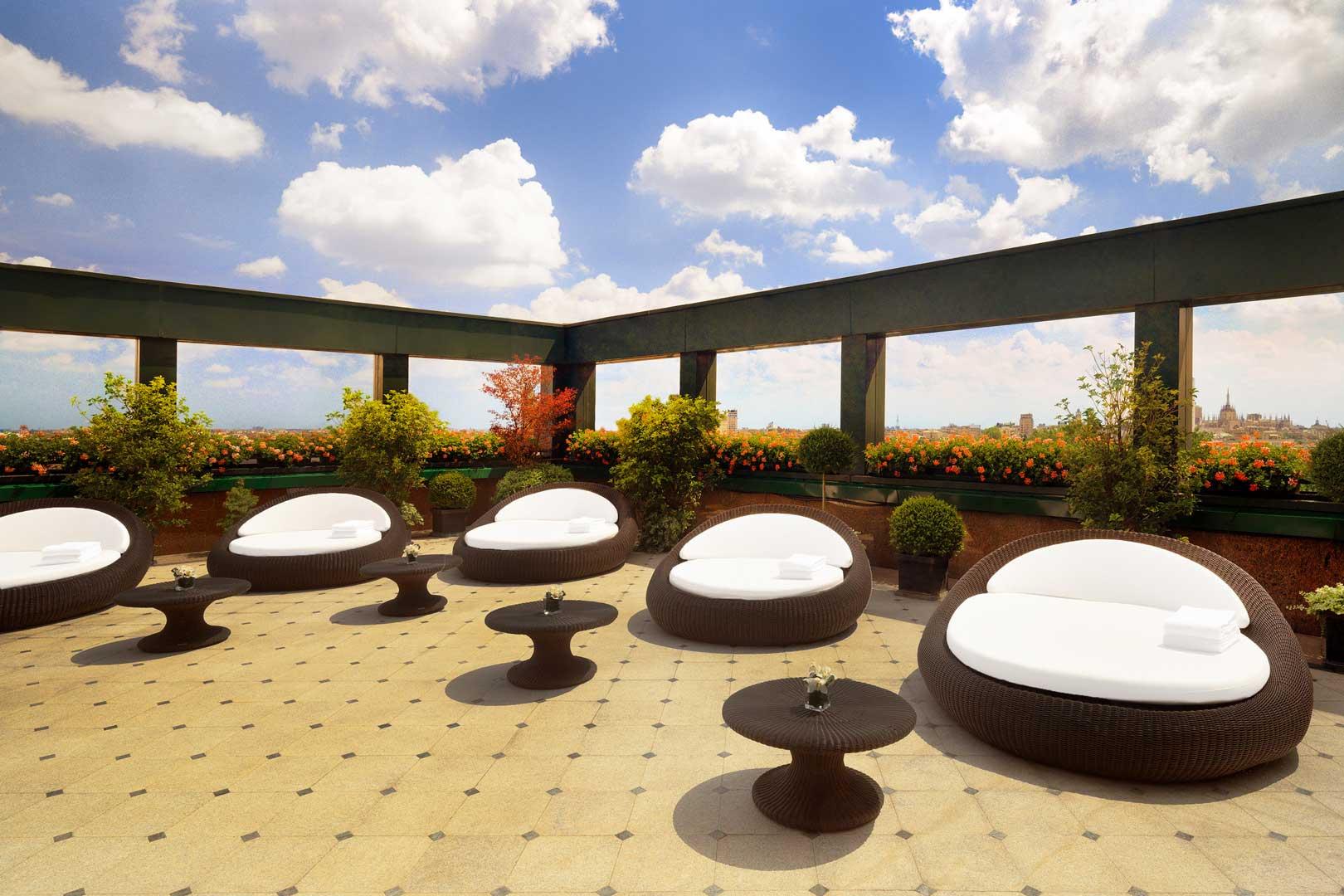 Westin Palace Milan - Roof Terrace