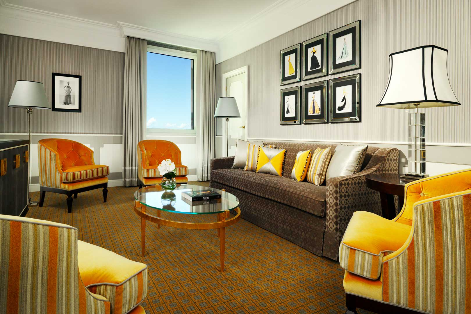 Westin Palace Milan - Suite Deluxe Living Room