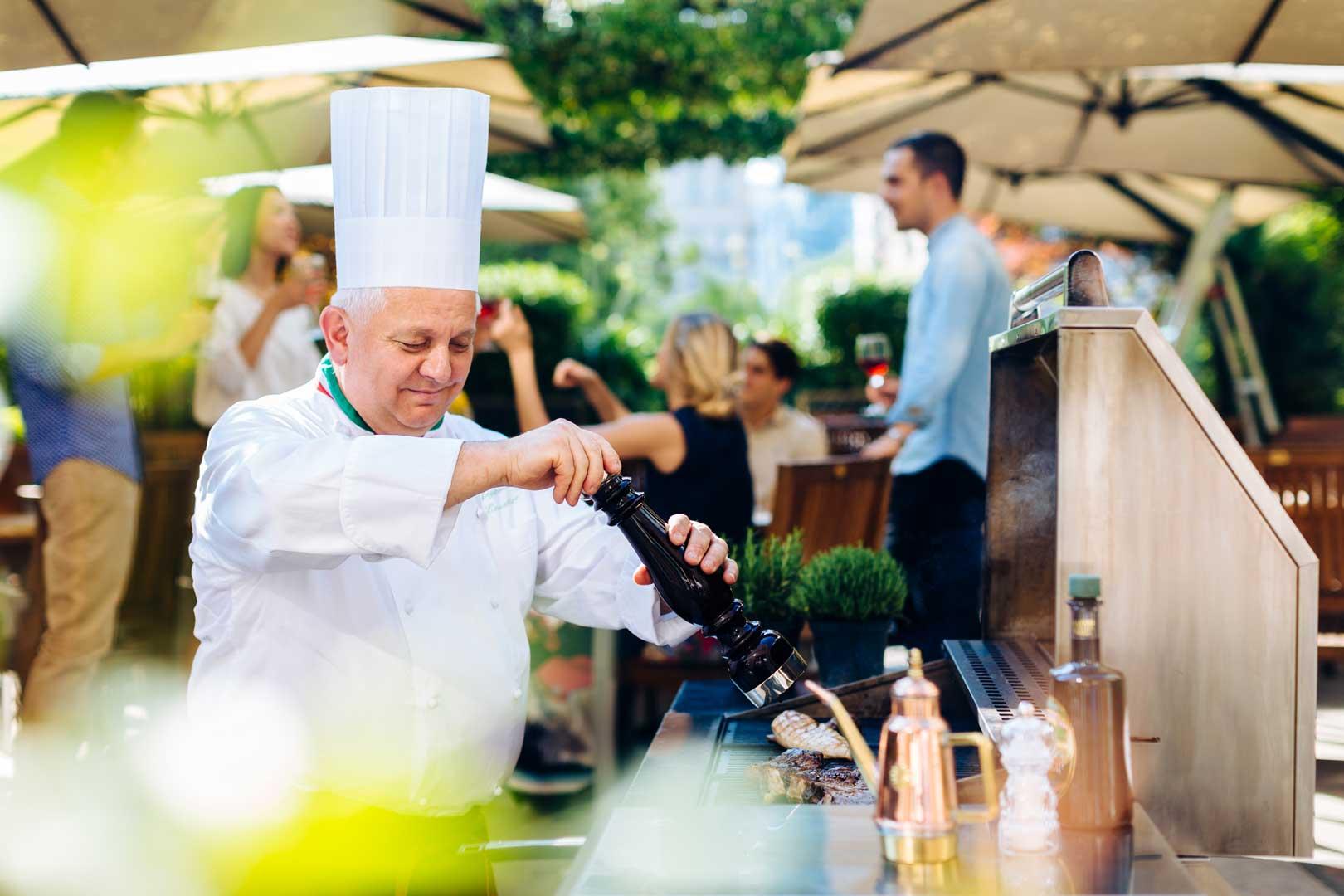 Ivory Terrace - Executive Chef Augusto Tombolato