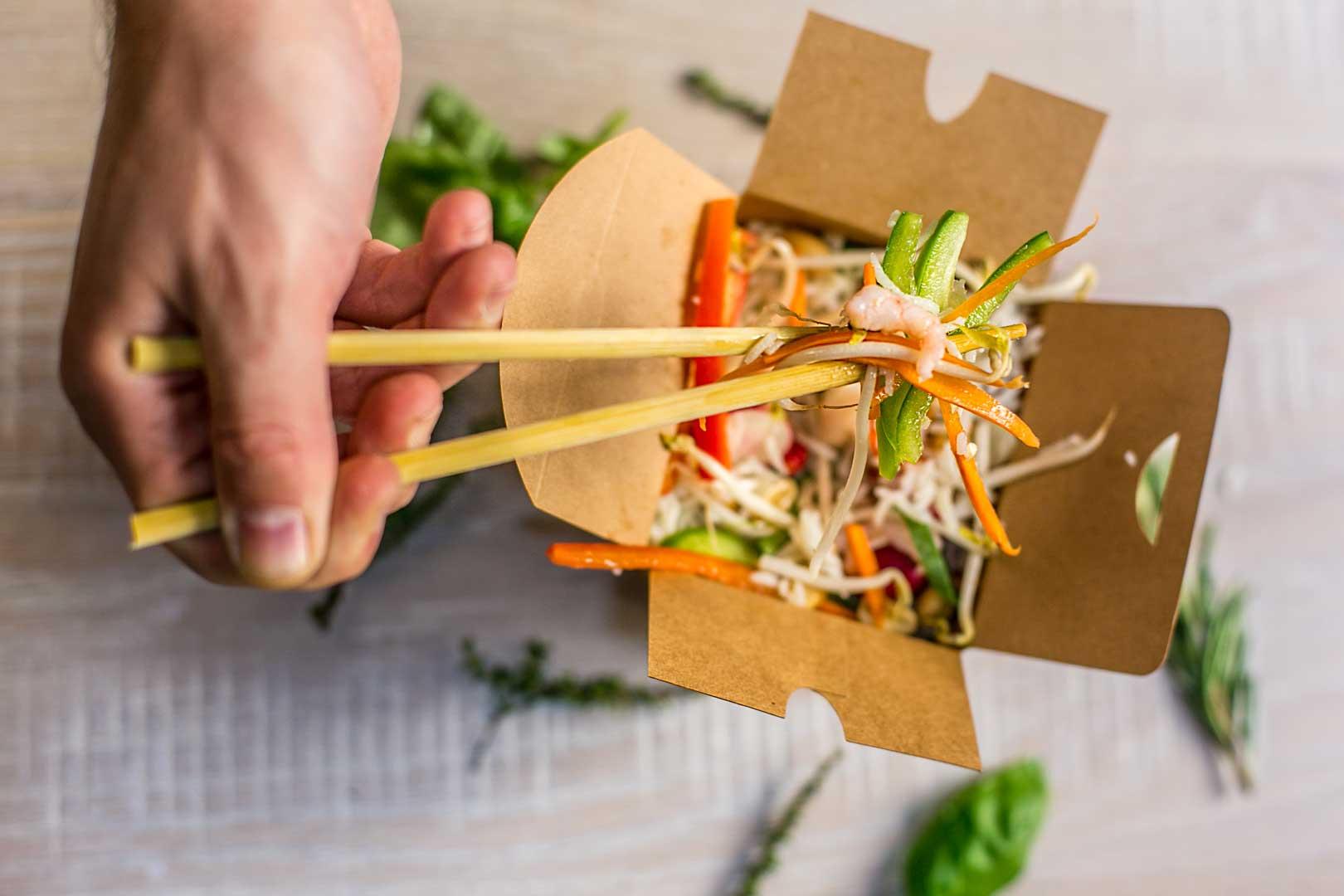 Let's Wok - Box Gamberi e Verdure