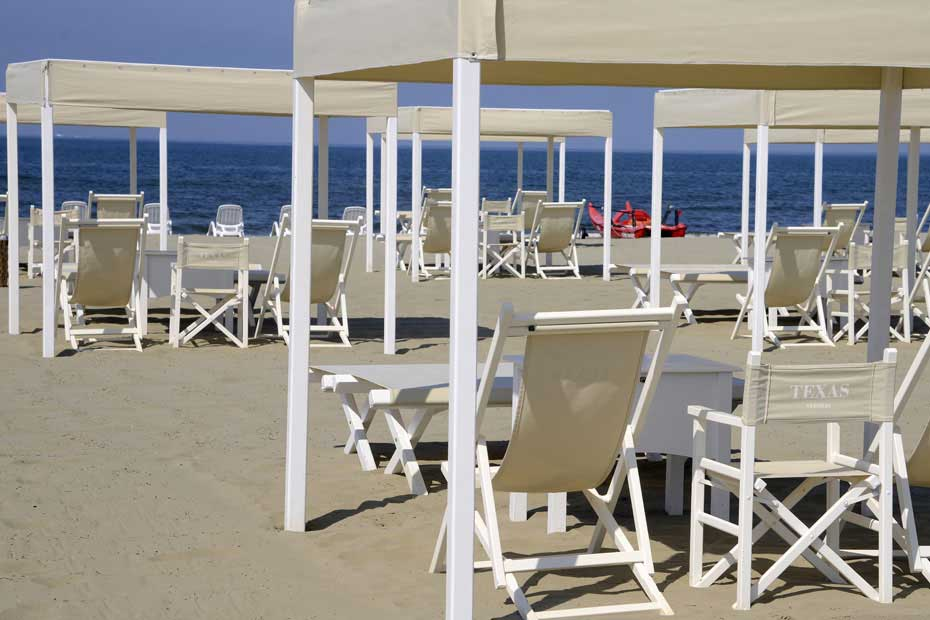 Pietrasanta - Bagni Texas Spiaggia