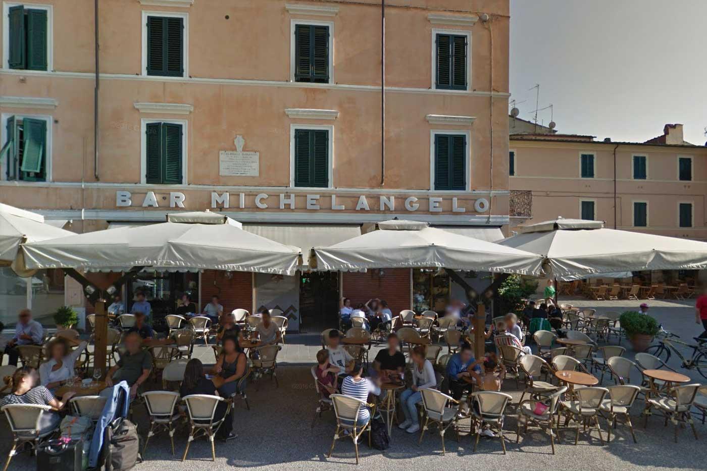 Pietrasanta - Bar Michelangelo