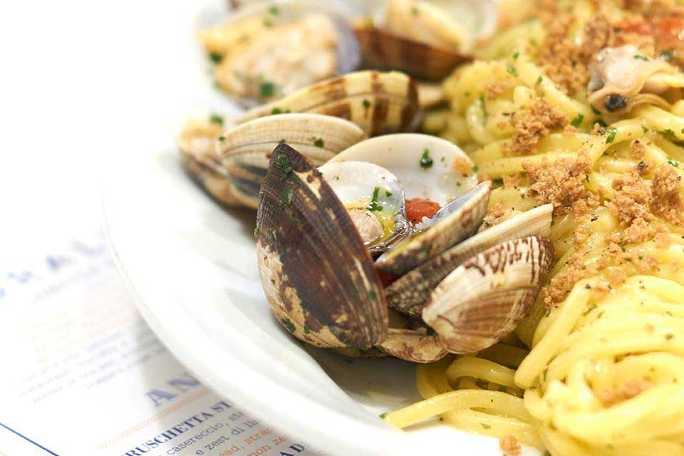 Corallo Lobster Bar |Spaghetti Vongole