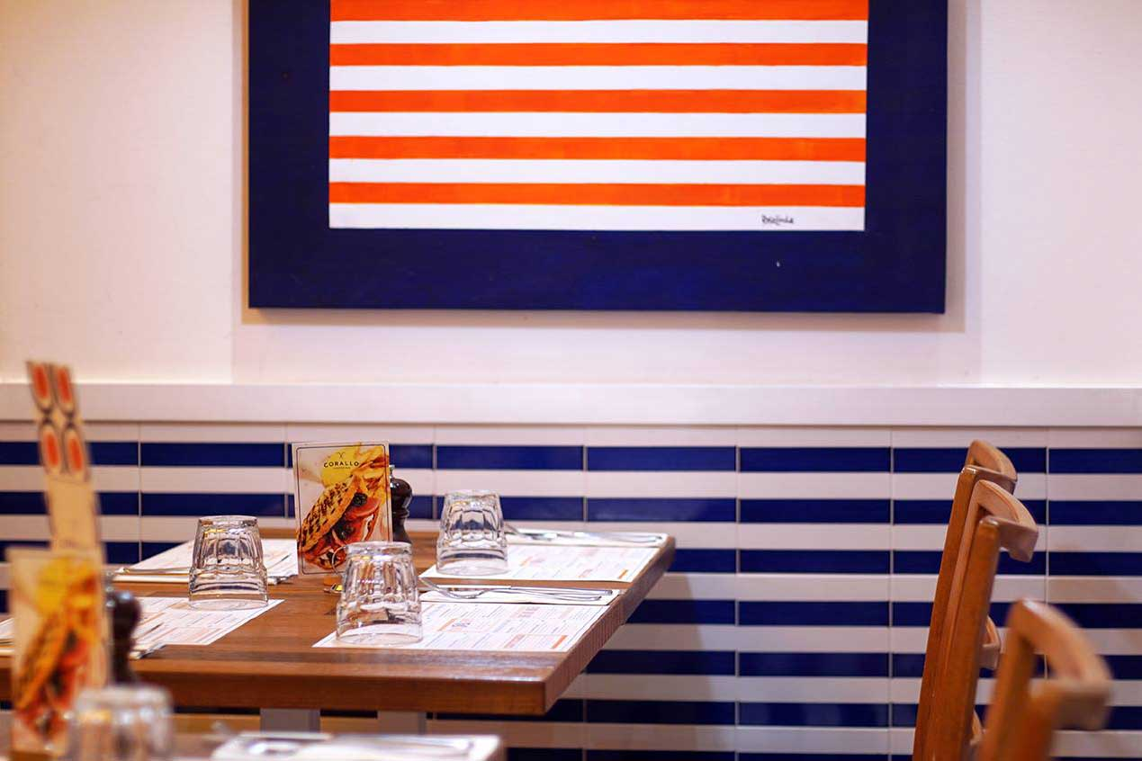 Corallo Lobster Bar |Tavoli