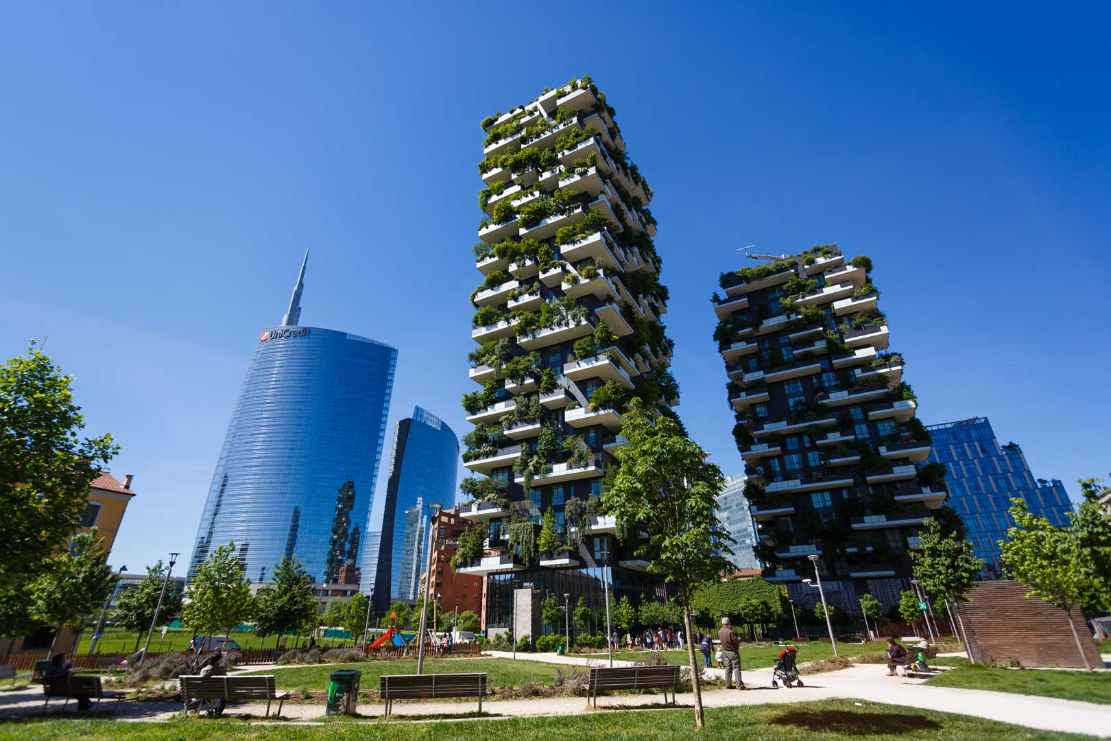 One night at bosco verticale flawless milano
