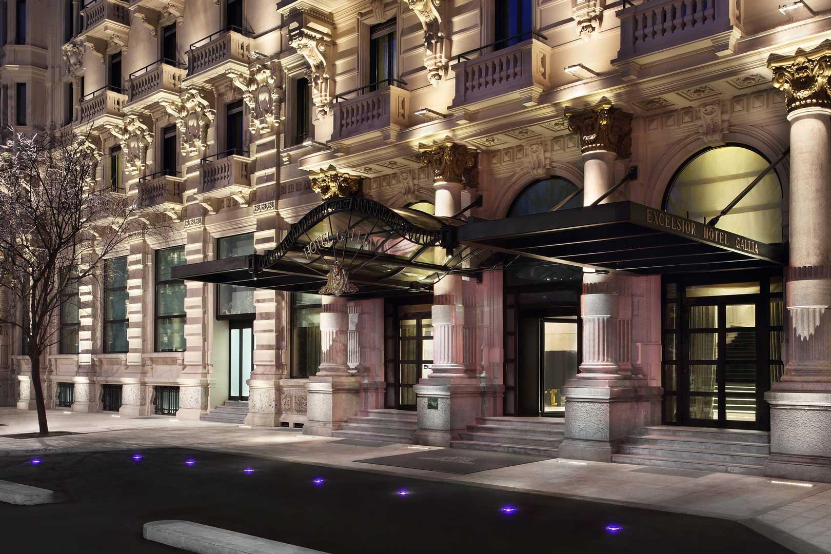 Excelsior Hotel Gallia   Esterno