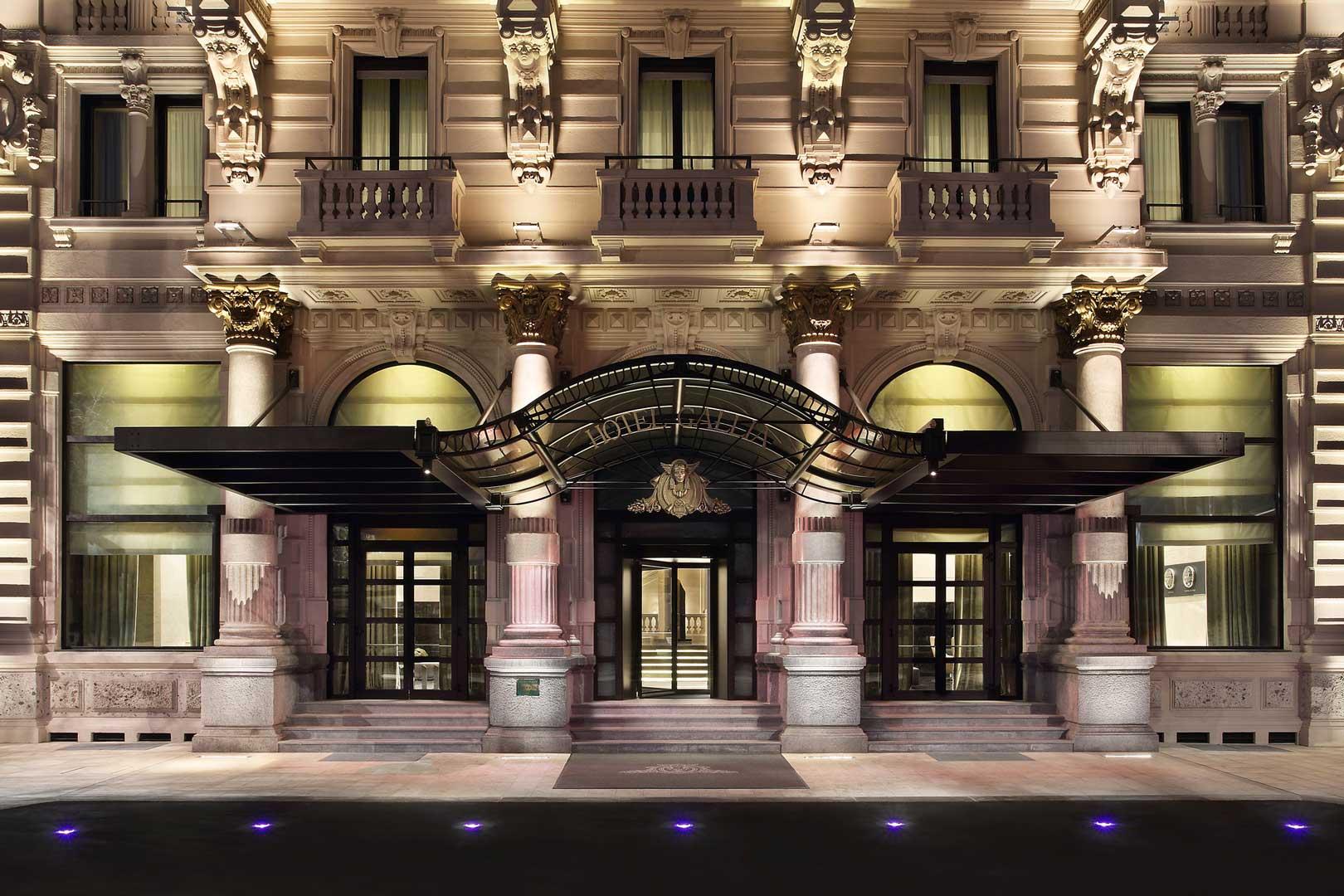 Excelsior Hotel Gallia   Ingresso