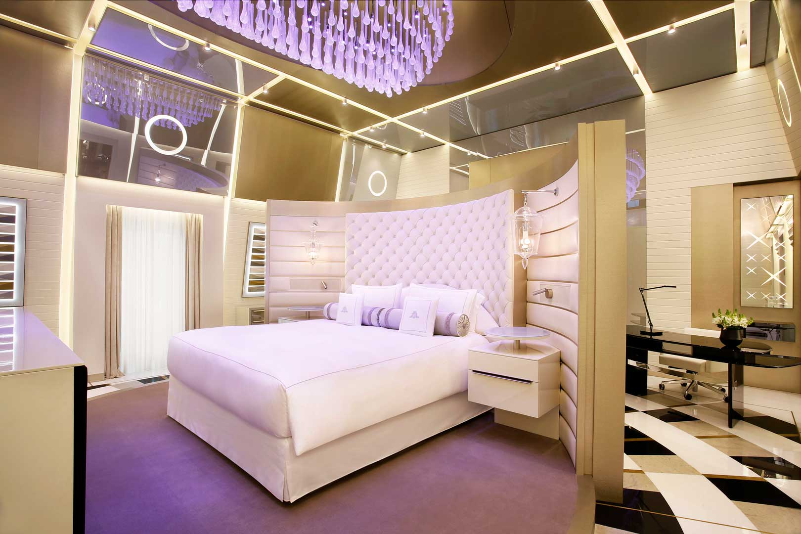 Excelsior Hotel Gallia   Katara Suite - Master Bedroom