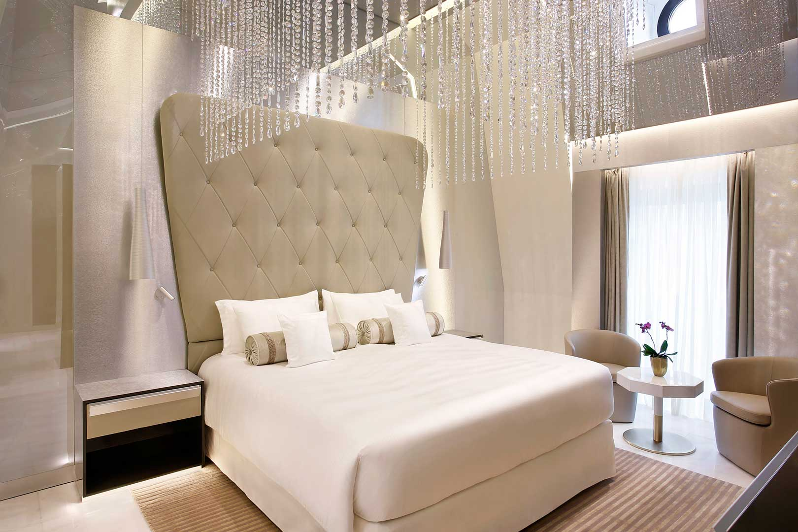Excelsior Hotel Gallia | Katara Suite - Princess Room