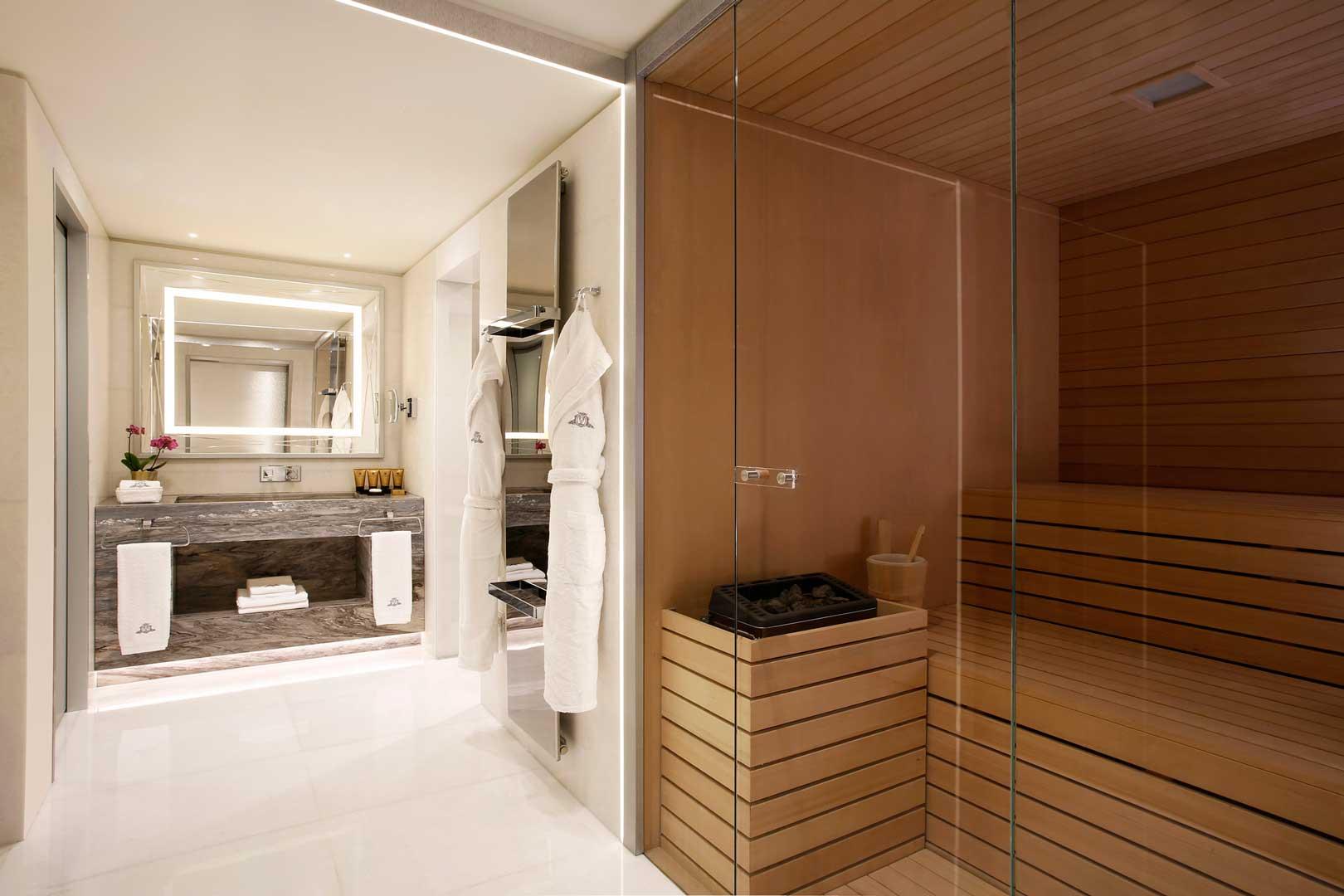 Excelsior Hotel Gallia   Katara Suite - Sauna