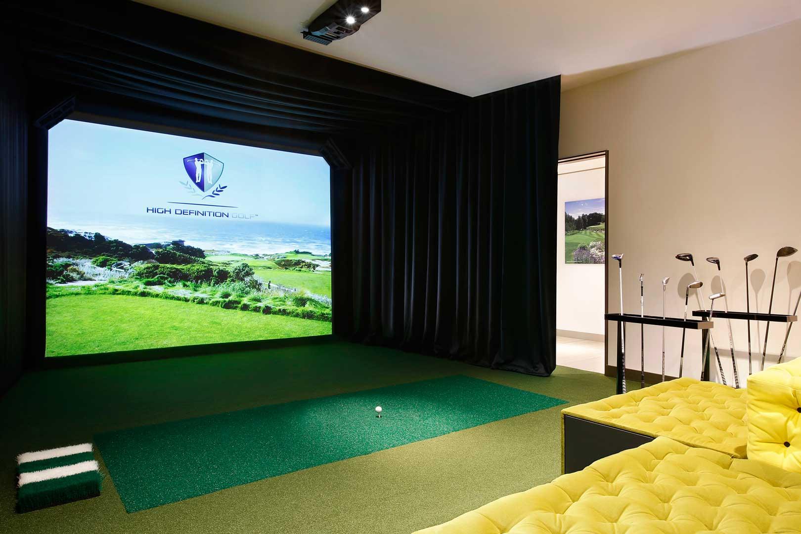 Excelsior Hotel Gallia | Virtual Golf