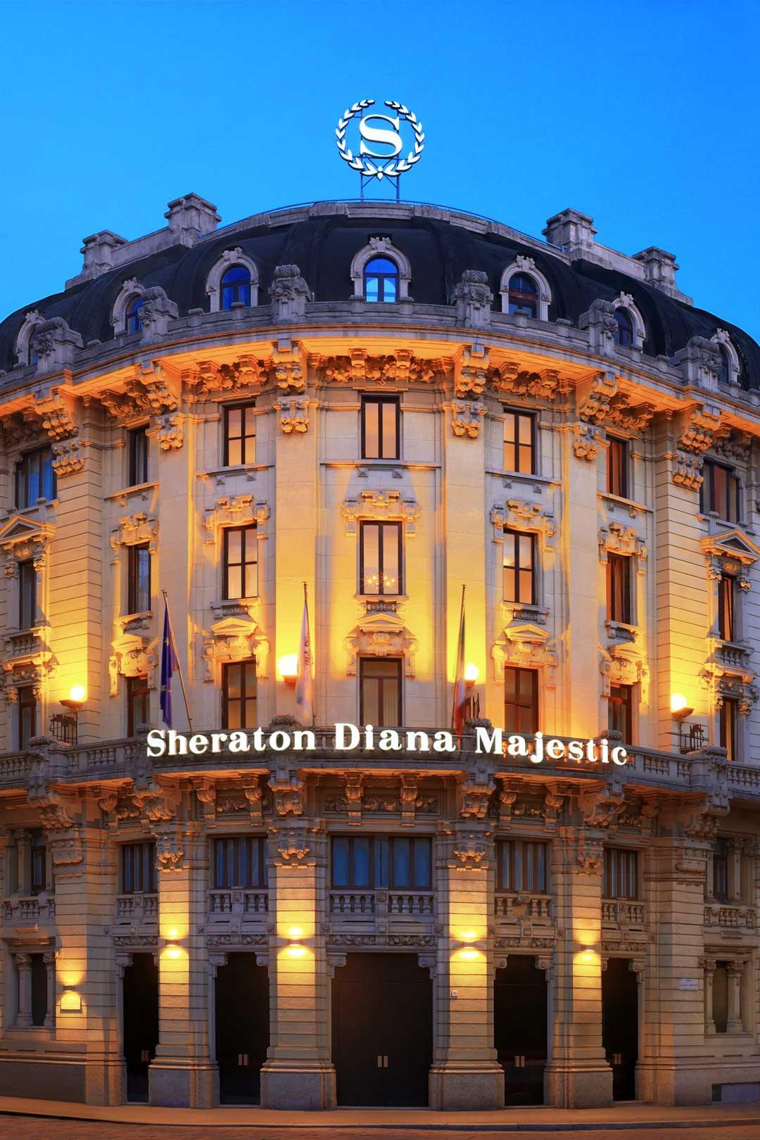 Sheraton Diana Majestic | Esterno