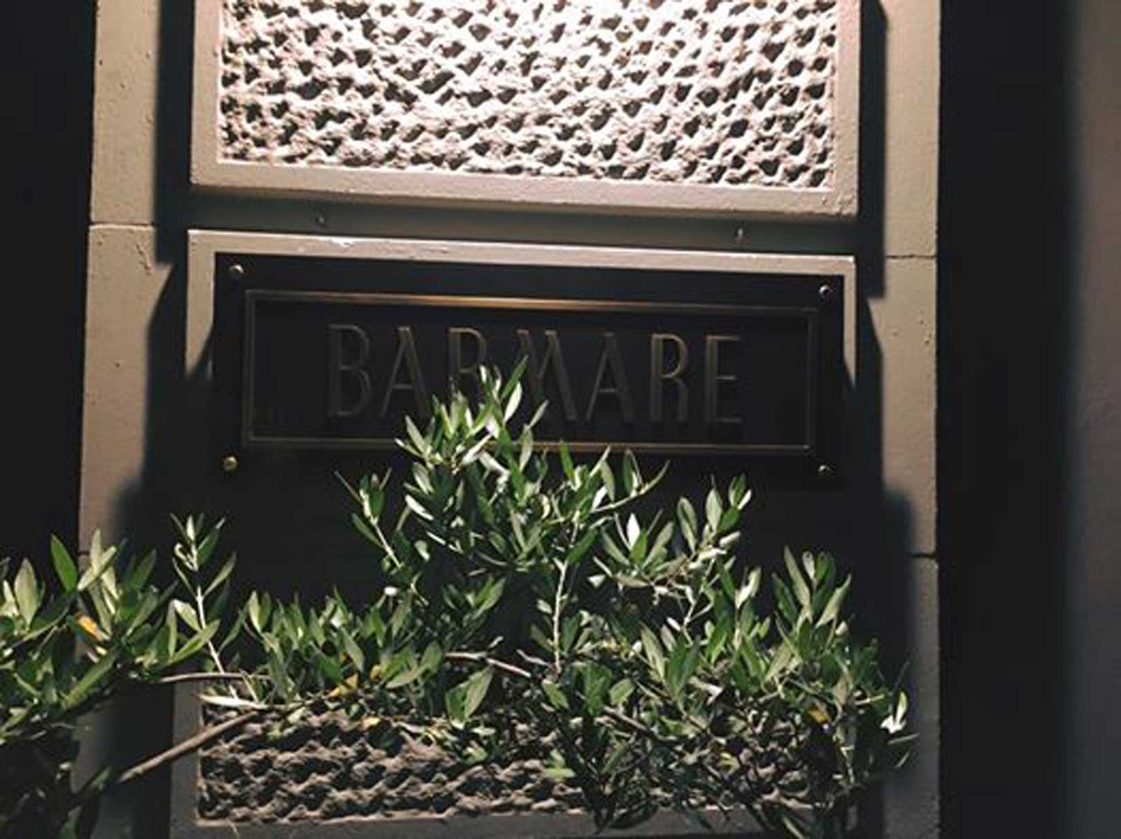 Barmare | Ingresso