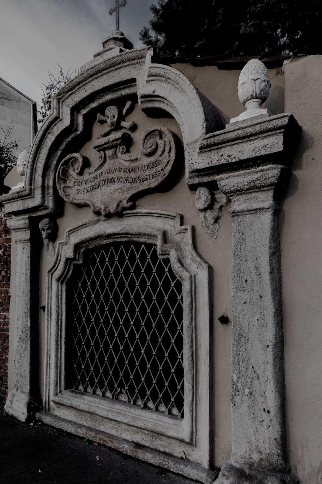 Cappella dei Morti   Piazzale Aquileia