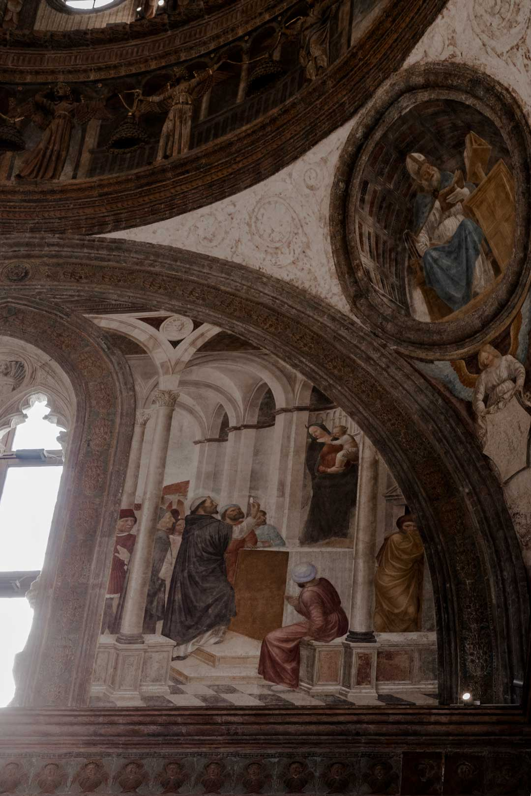 Cappella Portinari Madonna Diabolica