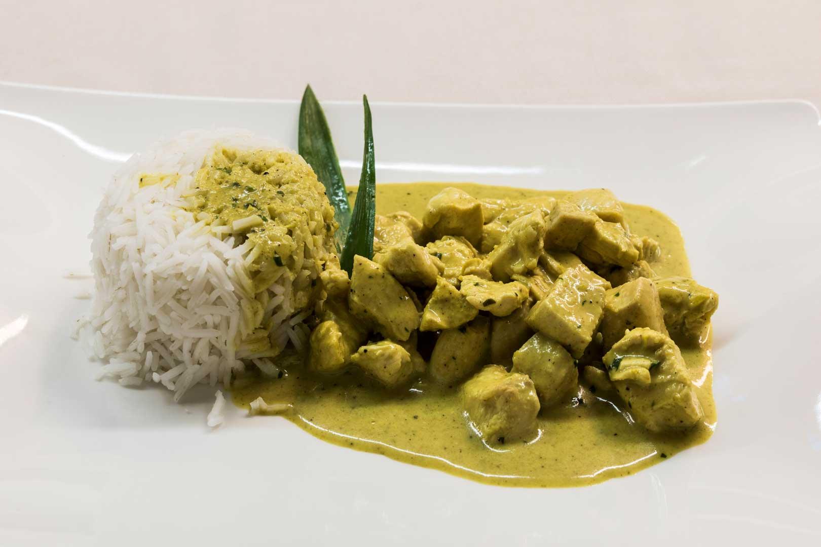 Hotel Manin | Pollo al Curry