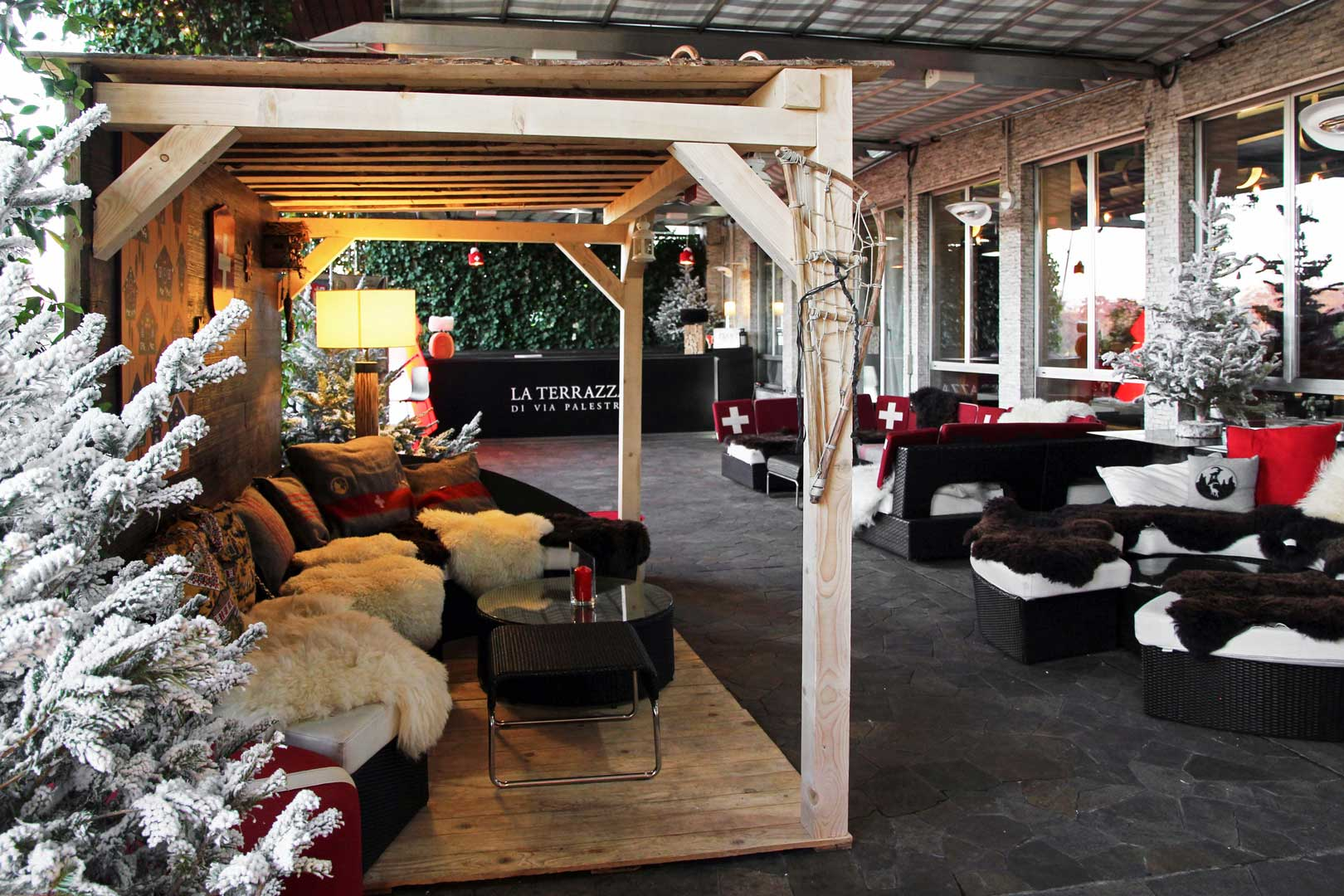 Swiss Winter Lounge - La Terrazza di Via Palestro