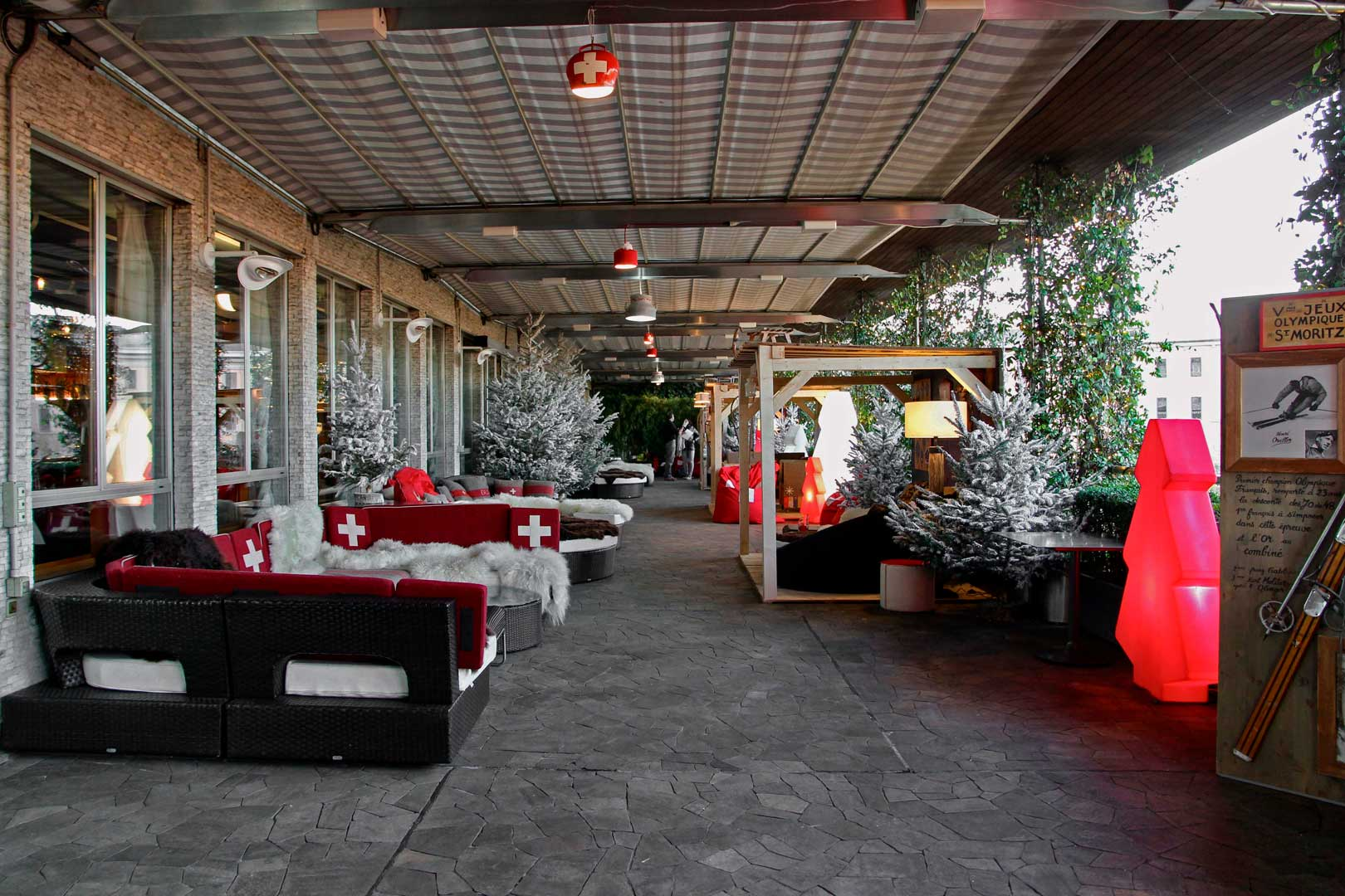 Swiss Winter Lounge - La Terrazza di Via Palestro