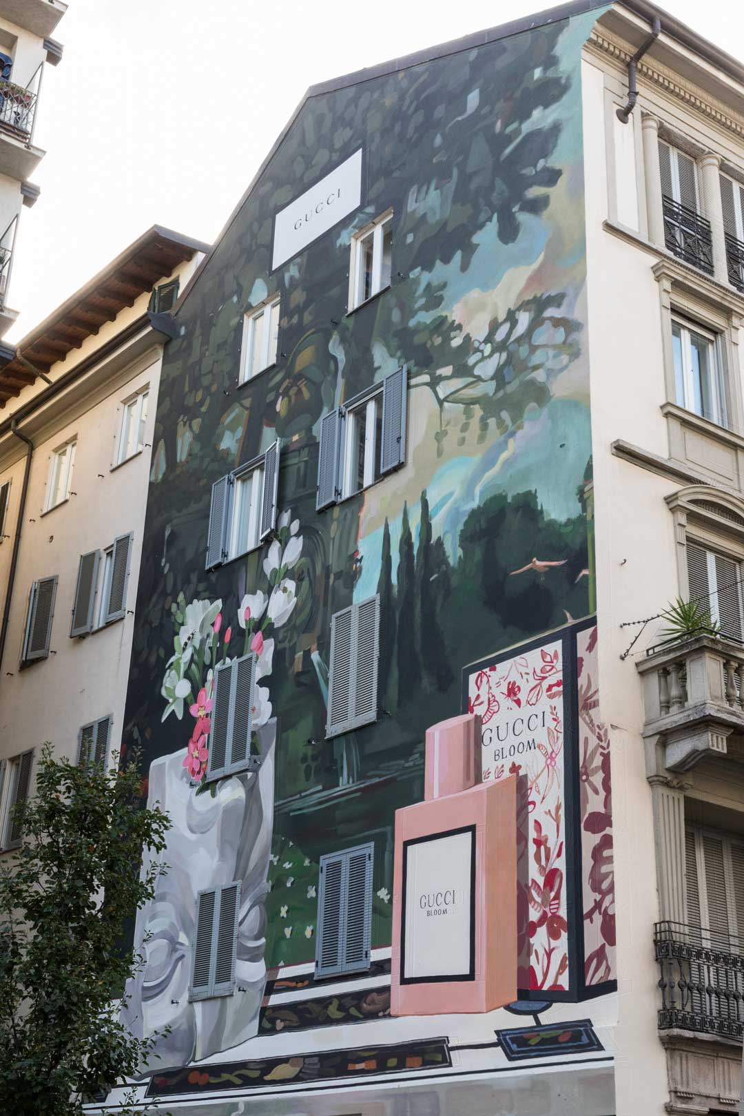 Gucci Art Wall | Flawless Milano - The Lifestyle Guide