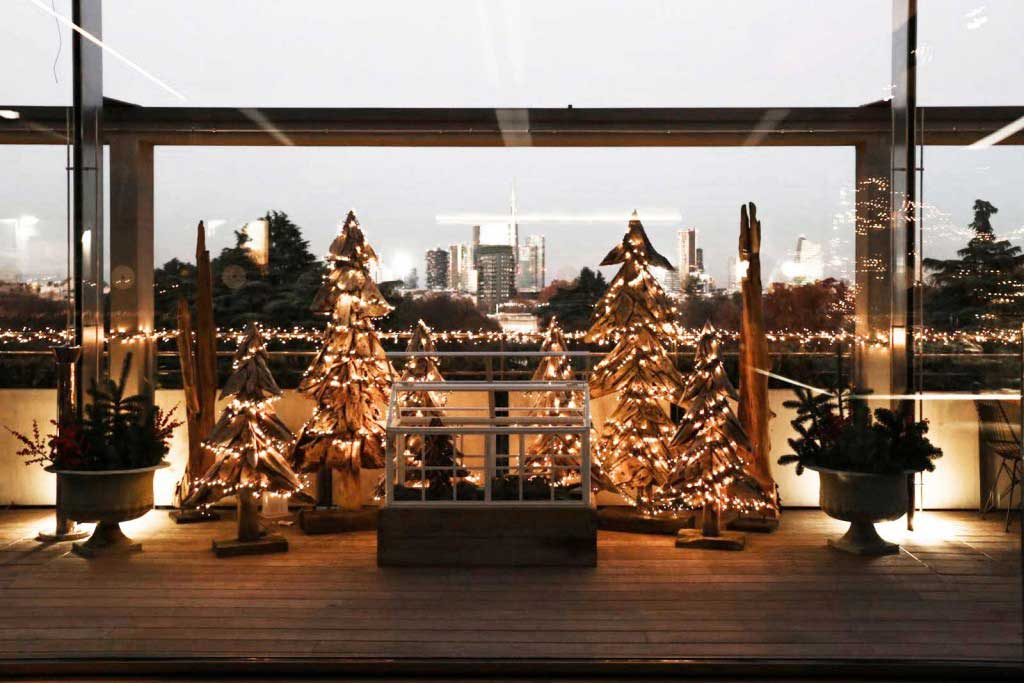 Cene di Natale con i colleghi - Terrazza Triennale