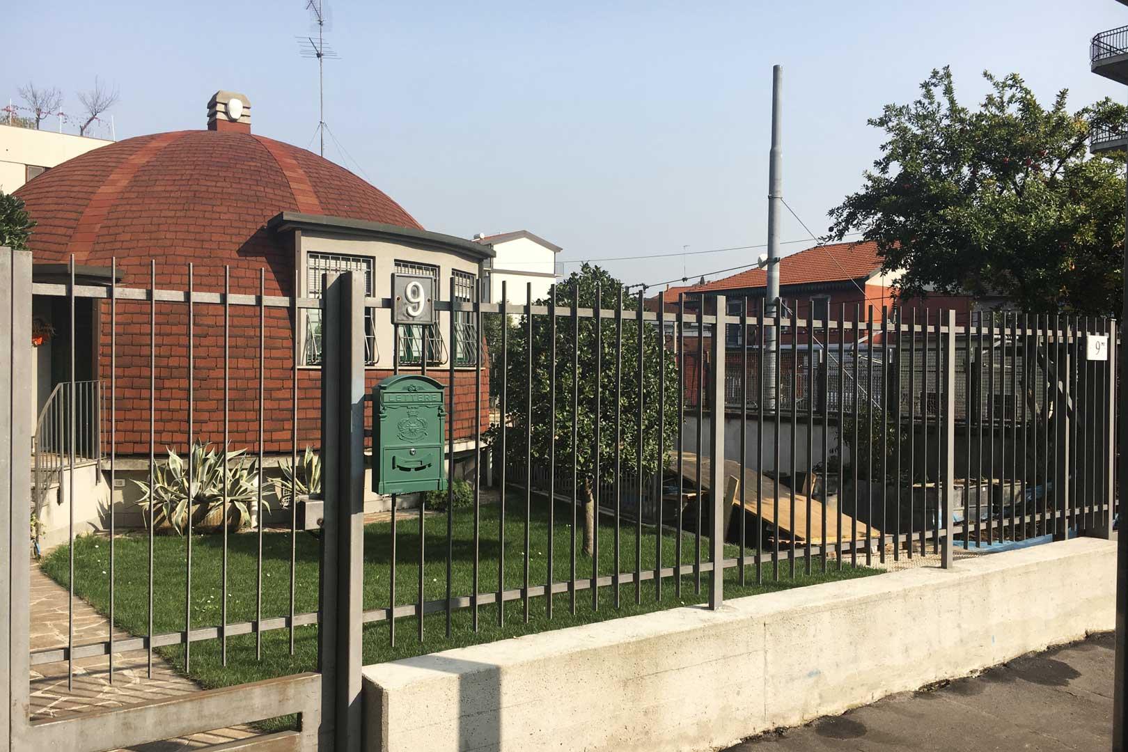 Villaggio dei giornalisti - Case Igloo