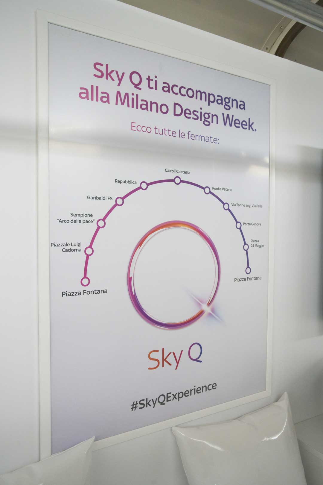 Sky Q Experience - Milano Design Week